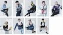 【グッズ-ブロマイド】MANKAI STAGE『A3!』 ~WINTER 2020~ ランダムブロマイド 稽古着ショットの画像