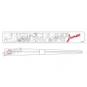 【グッズ-箸】学芸大青春 「じゅねストア 2021 SUMMER」お箸セット(ケース&お箸)の画像