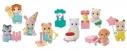 【トレーディングフィギュア】赤ちゃんパーティーシリーズ シルバニアファミリーの画像