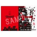 【グッズ-クリアファイル】PERSONA5 Design Produced by Sanrio クリアファイル(高巻杏)の画像