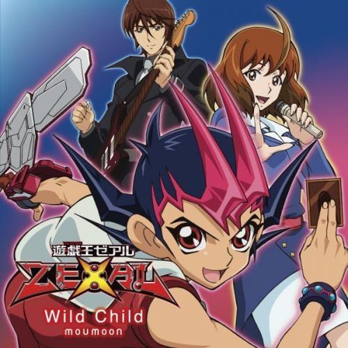 【主題歌】TV 遊☆戯☆王ZEXAL ED「Wild Child」/moumoon 初回限定盤