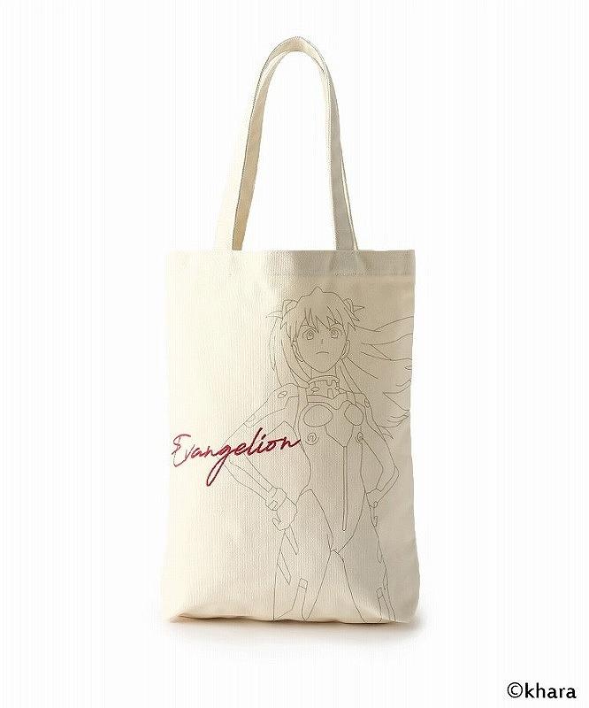 【グッズ-バッグ】エヴァンゲリオン グラフィックバッグ(レッド) 【PLATINUM AURA】