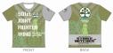 【グッズ-Tシャツ】ストライクウィッチーズ ROAD to BERLIN ツーリングTシャツ フランチェスカ・ルッキーニVer. Lサイズ【アウローラ】の画像