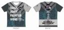 【グッズ-Tシャツ】ストライクウィッチーズ ROAD to BERLIN ツーリングTシャツ サーニャ・V・リトヴャクVer. XLサイズ【アウローラ】の画像