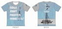 【グッズ-Tシャツ】ストライクウィッチーズ ROAD to BERLIN ツーリングTシャツ エイラ・イルマタル・ユーティライネンVer. Lサイズ【アウローラ】の画像