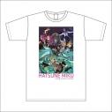【グッズ-Tシャツ】~初音ミク×よみうりランド 出会いふたたび~ Tシャツ XLサイズの画像