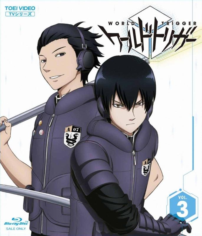 【Blu-ray】TV ワールドトリガー VOL.3