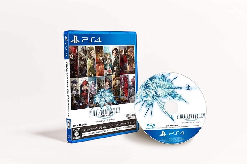 【PS4】ファイナルファンタジーXIV コンプリートパック 新生エオルゼア~漆黒のヴィランズ