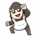 【グッズ-キーホルダー】逢田梨香子のまるごとりかこ アクリルキーホルダーの画像