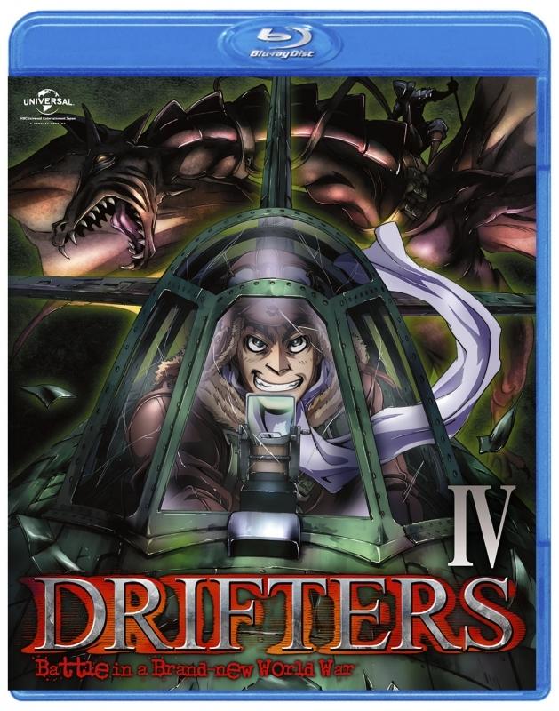 【Blu-ray】TV DRIFTERS 第4巻