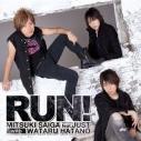 【アルバム】斎賀みつき feat.JUST with 羽多野渉/RUN! 通常盤の画像