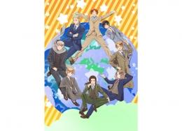 アニメ「ヘタリア World★Stars」Blu-ray BOX 発売記念 キャスト直筆サイン入り台本プレゼントキャンペーン画像