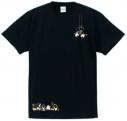 【グッズ-Tシャツ】とーとつにエジプト神 ずっともTEE BLACK Mの画像