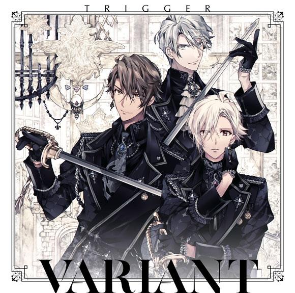 """【アルバム】ゲーム アイドリッシュセブン TRIGGER 2nd Album """"VARIANT"""" 通常盤"""