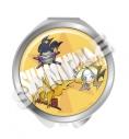 【グッズ-ミラー】シャーマンキング コンパクトミラー チームふんばり温泉の画像