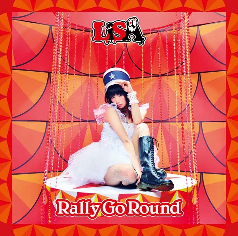 【主題歌】TV ニセコイ 2期 OP「Rally Go Round」/LiSA 通常盤