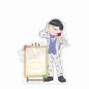 【グッズ-メモ帳】おそ松さん 6つ子バースデー'20 スタンド付きメモ帳(カラ松)の画像