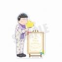 【グッズ-メモ帳】おそ松さん 6つ子バースデー'20 スタンド付きメモ帳(一松)の画像