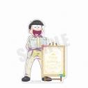 【グッズ-メモ帳】おそ松さん 6つ子バースデー'20 スタンド付きメモ帳(十四松)の画像