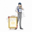 【グッズ-メモ帳】おそ松さん 6つ子バースデー'20 スタンド付きメモ帳(F6カラ松)の画像