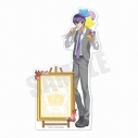 【グッズ-メモ帳】おそ松さん 6つ子バースデー'20 スタンド付きメモ帳(F6一松)の画像