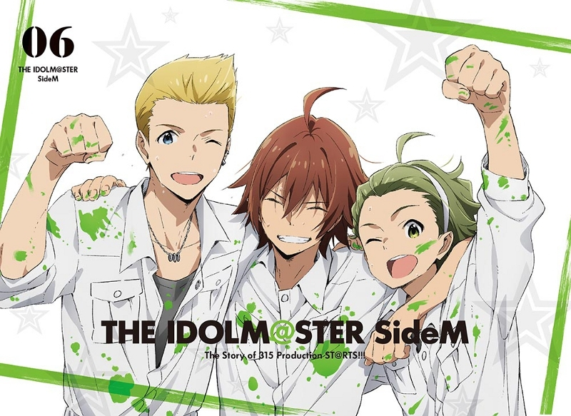 【Blu-ray】TV アイドルマスター SideM 6 完全生産限定版