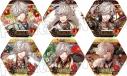 【グッズ-バッチ】夢王国と眠れる100人の王子様 ピックアップコレクション缶バッジ(ヒノト)Vol.1の画像