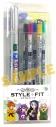 【グッズ-ボールペン】日常組 スタイルフィット 5色セットの画像