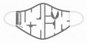 【サイクルウェア】究極!ニパ子ちゃん 洗えるマスク プラモランナーVer.【アウローラ】の画像