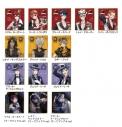 【グッズ-色紙】ディズニー ツイステッドワンダーランド ビジュアル色紙コレクションvol.1の画像