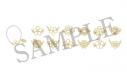 【グッズ-チャーム】A3! トレーディング満開グラスマーカー Aグループ 春組・夏組【アニメイトカフェ】の画像