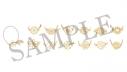 【グッズ-チャーム】A3! トレーディング満開グラスマーカー Bグループ 秋組・冬組【アニメイトカフェ】の画像
