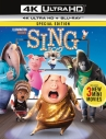 【Blu-ray】映画 SING 4K ULTRA HD+Blu-rayセットの画像