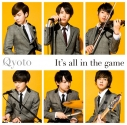 【主題歌】TV BORUTO-ボルト- NARUTO NEXT GENERATIONS OP「It's all in the game」/Qyoto 通常盤の画像