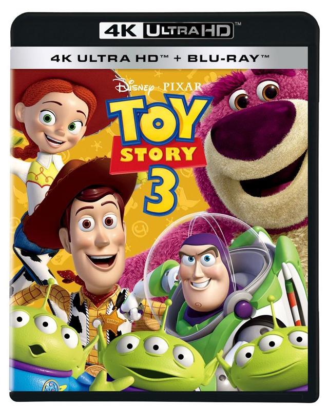 【Blu-ray】映画 トイ・ストーリー3 4K UHD