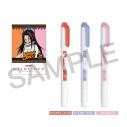 【グッズ-蛍光ペン】SHAMAN KING マイルドライナー3色セット ハオの画像