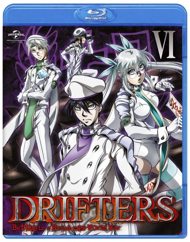 【Blu-ray】TV DRIFTERS 第6巻