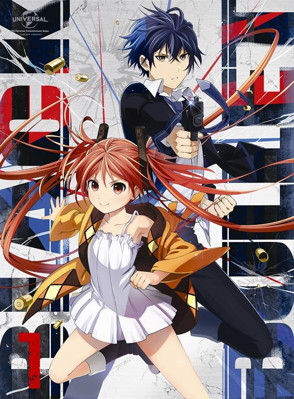 【Blu-ray】TV ブラック・ブレット 第1巻 初回限定版