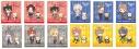 【グッズ-色紙】ヒプノシスマイク×ラスカル トレーディングmini色紙コレクションの画像