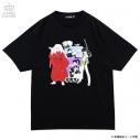 【グッズ-Tシャツ】犬夜叉×LISTEN FLAVOR 犬夜叉一行BIG Tシャツ 01.BLACKの画像