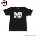 【グッズ-Tシャツ】鬼滅の刃 Tシャツ 集合柄 Lの画像