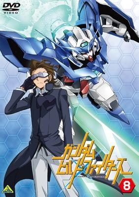 【DVD】TV ガンダムビルドファイターズ 8