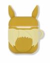 【グッズ-カバーホルダー】ポケットモンスター AirPods対応シリコンケース イーブイの画像
