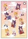 【グッズ-パスケース】世話やきキツネの仙狐さん 合皮パスケース Bの画像