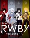 【Blu-ray】アニメ RWBY Volume 1-4 ブルーレイSETの画像