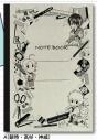 【グッズ-ノート】銀魂 A5クラシックノート A(銀時・高杉・神威)の画像