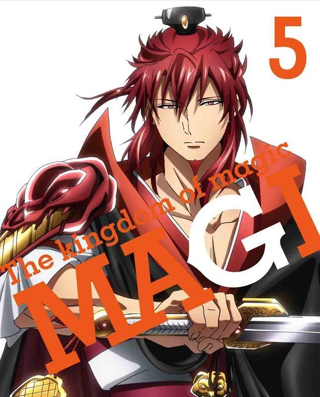 【Blu-ray】TV マギ The kingdom of magic 5 完全生産限定版