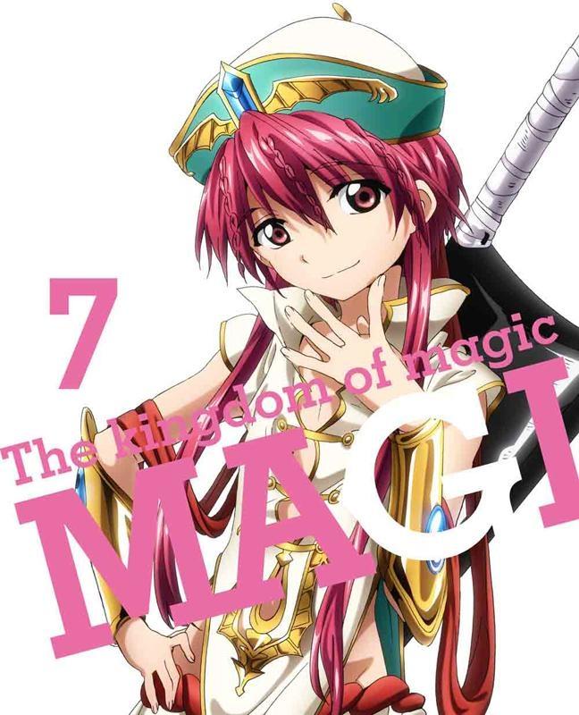 【Blu-ray】TV マギ The kingdom of magic 7 完全生産限定版