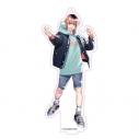 【グッズ-キーホルダー】東京カラーソニック!! スタンド付きアクリルキーホルダー 財前未來の画像