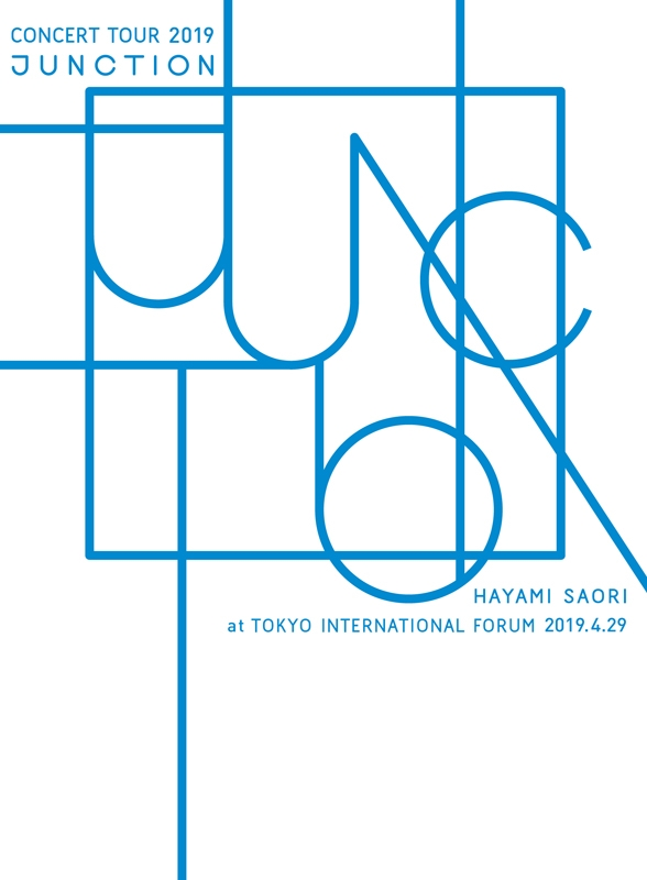 "【Blu-ray】早見沙織/HAYAMI SAORI Concert Tour 2019 ""JUNCTION"" at 東京国際フォーラム 数量限定生産版"